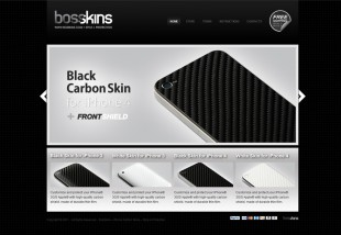 carbon skins iphone - Bosskins.com