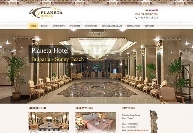 planet hotel, sunny beach